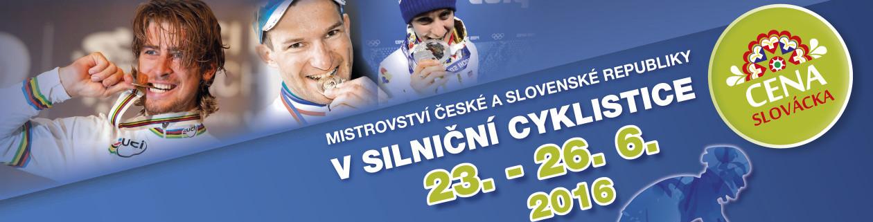 Mistrovství České a Slovenské republiky v cyklistice 2016